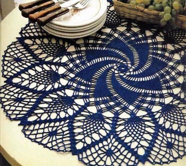 40 Pretty and Easy Crochet Doily for Beginners | Lindo y Mandalas
