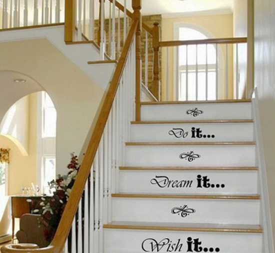Delightful 20 Unusual Interior Decorating Ideas For Wooden Stairs