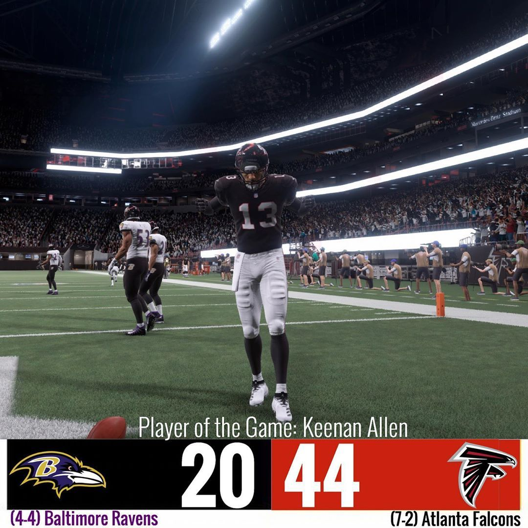 The Falcons Stay Red Hot At Home The Falcons Win Yet Again And Gain Their 7th Win To Further Push Their Divisions Lead Feleipe Franks Wasn T Spectacular But
