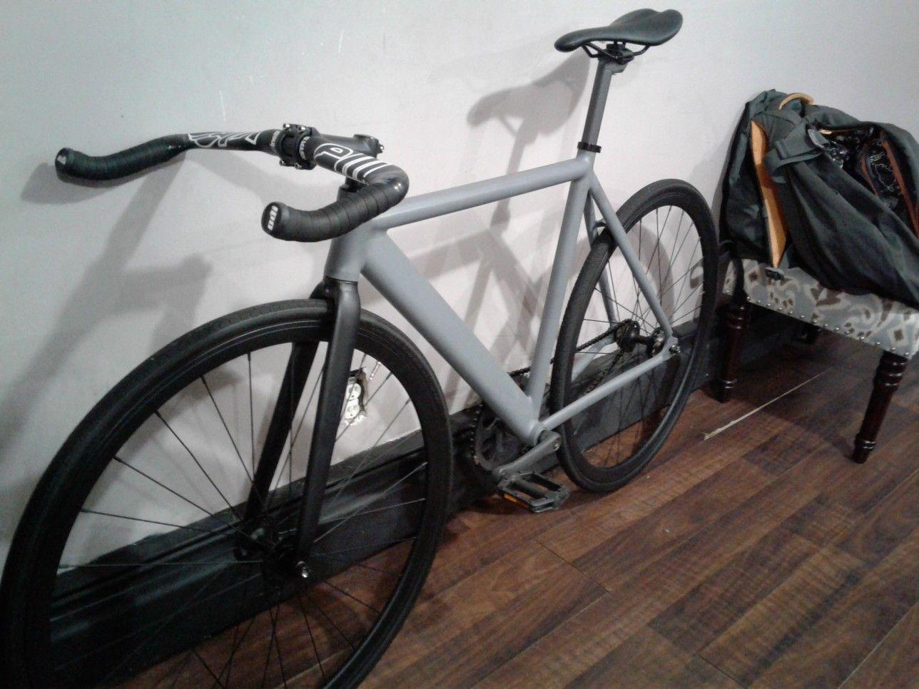 6ku Track With Cinelli Bullhorns Track Bike Bike Bicycle