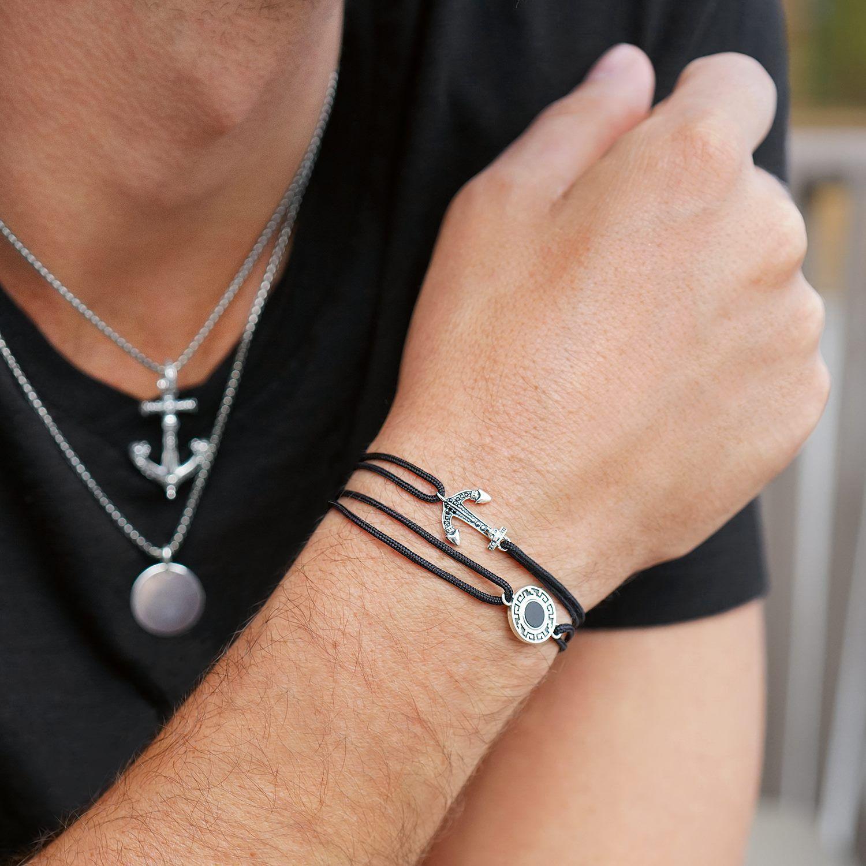 gamme exceptionnelle de styles handicaps structurels offrir des rabais Bracelet en cordon de Thomas Sabo, parfait pour ceux qui ne ...