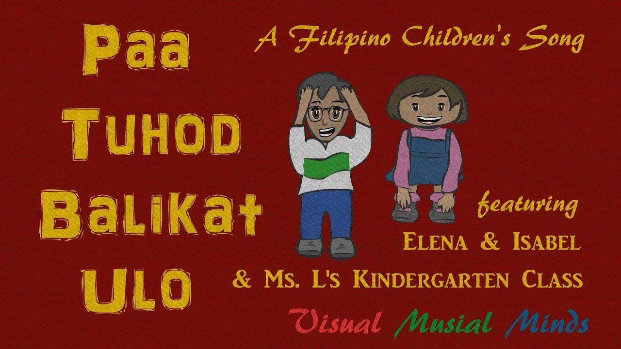 Paa Tuhod Balikat Ulo A Filipino Children's Song