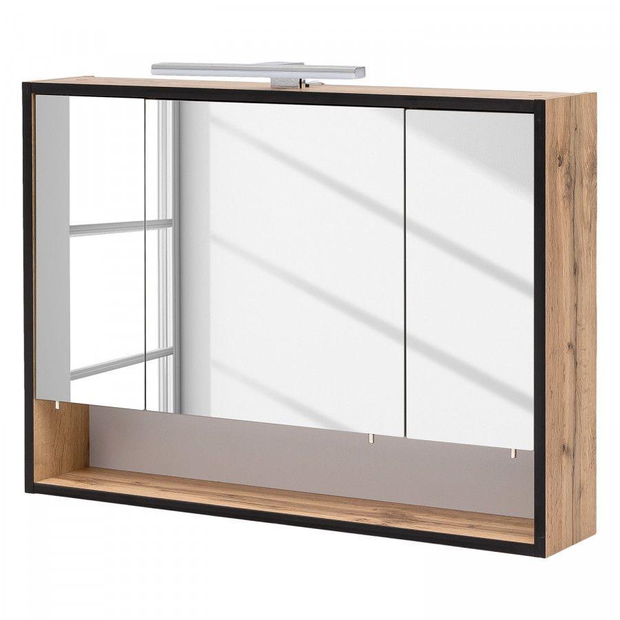 Spiegelschrank Max Kaufen Home24 In 2020 Spiegelschrank Spiegelschrank Bad Spiegelschrank Bad Holz