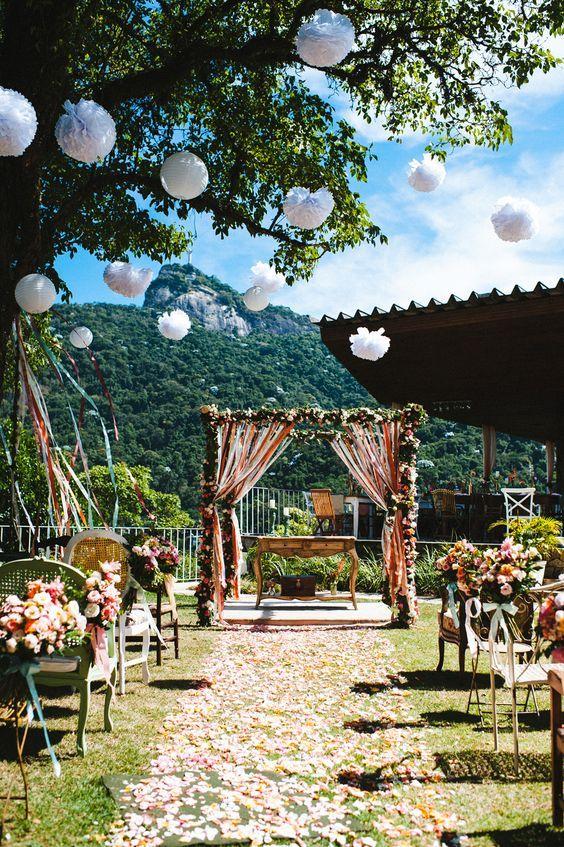 Casamentos durante o dia é muito bonito. Foto: Gustavo Marialva http://lapisdenoiva.com/casamento-karine-wagner/: