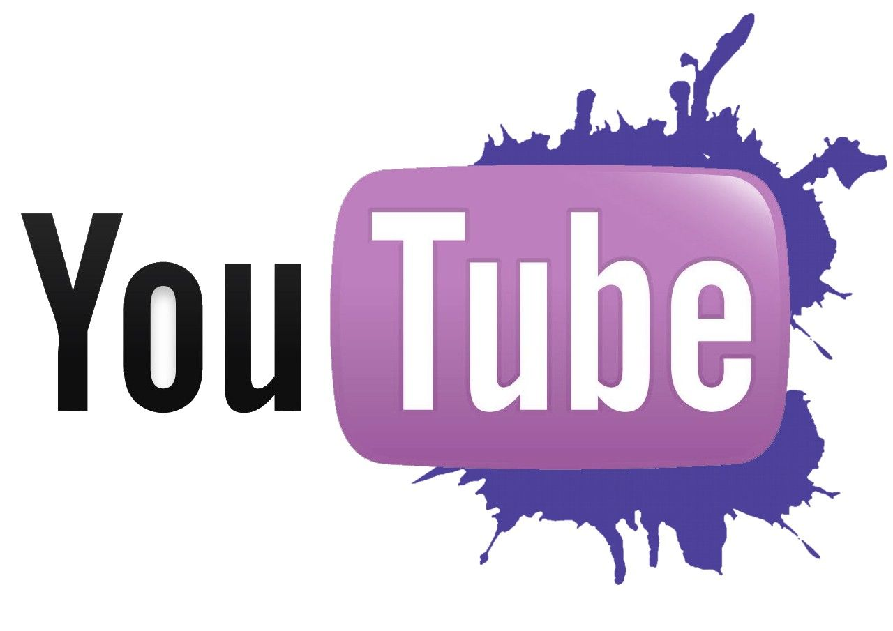 Purple youtube logo | The Pixel Project's Wall of Support is a ...