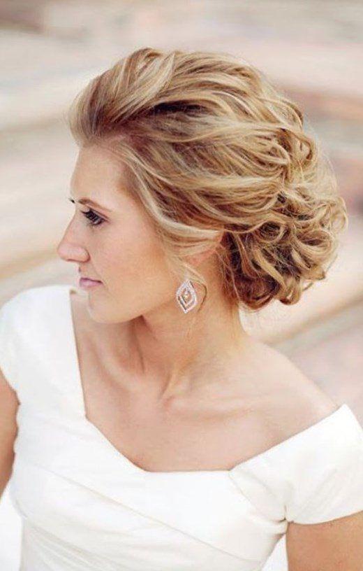 Elegante Prom Updo Hochzeitsfrisuren Fur Mittellanges Und Langes