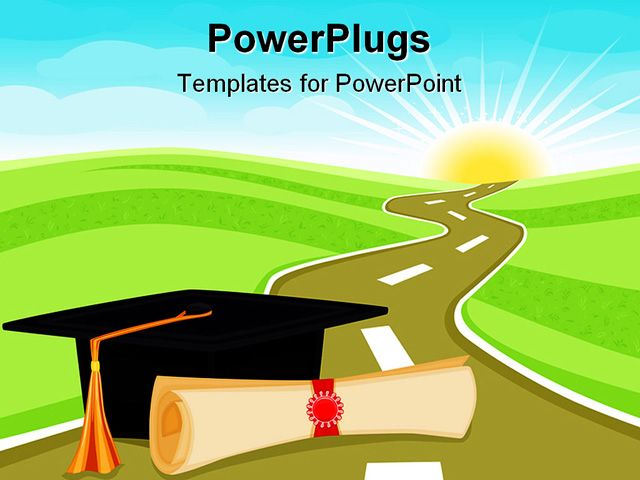 powerpoint presentation templates for graduation free download best