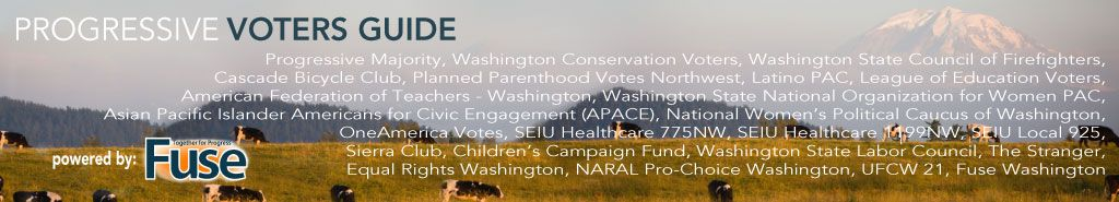 Progressive Voters Guide  Washington