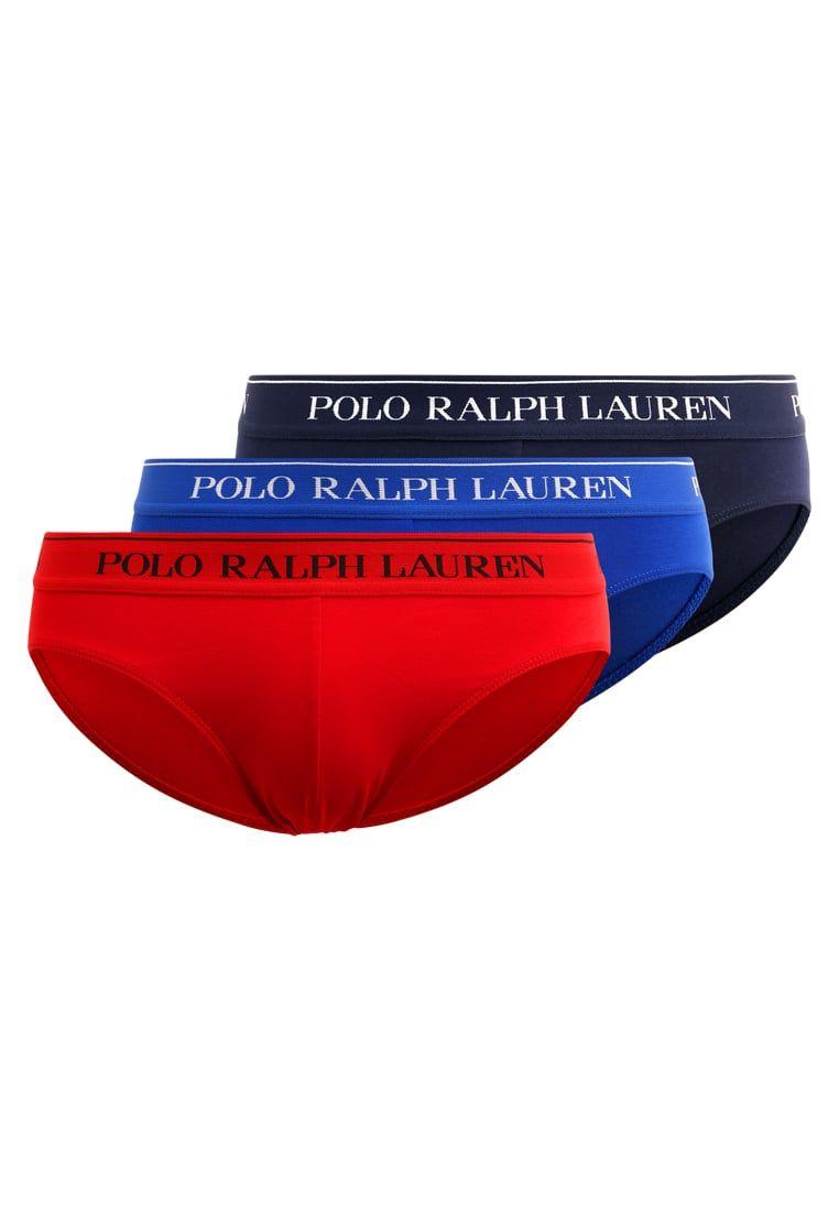 Polo Ralph Lauren 3 PACK - Slip - dark blue/blue/dark red uNZZbbIE92