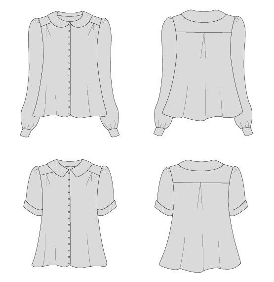 By Hand London Sarah Shirt - PDF sewing pattern – By Hand London ...