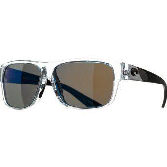 46cbd221ca Costa Del Mar Caye Polarized Sunglasses - Costa 580 Glass Lens - Women s  Black Pearl Blue Mirror