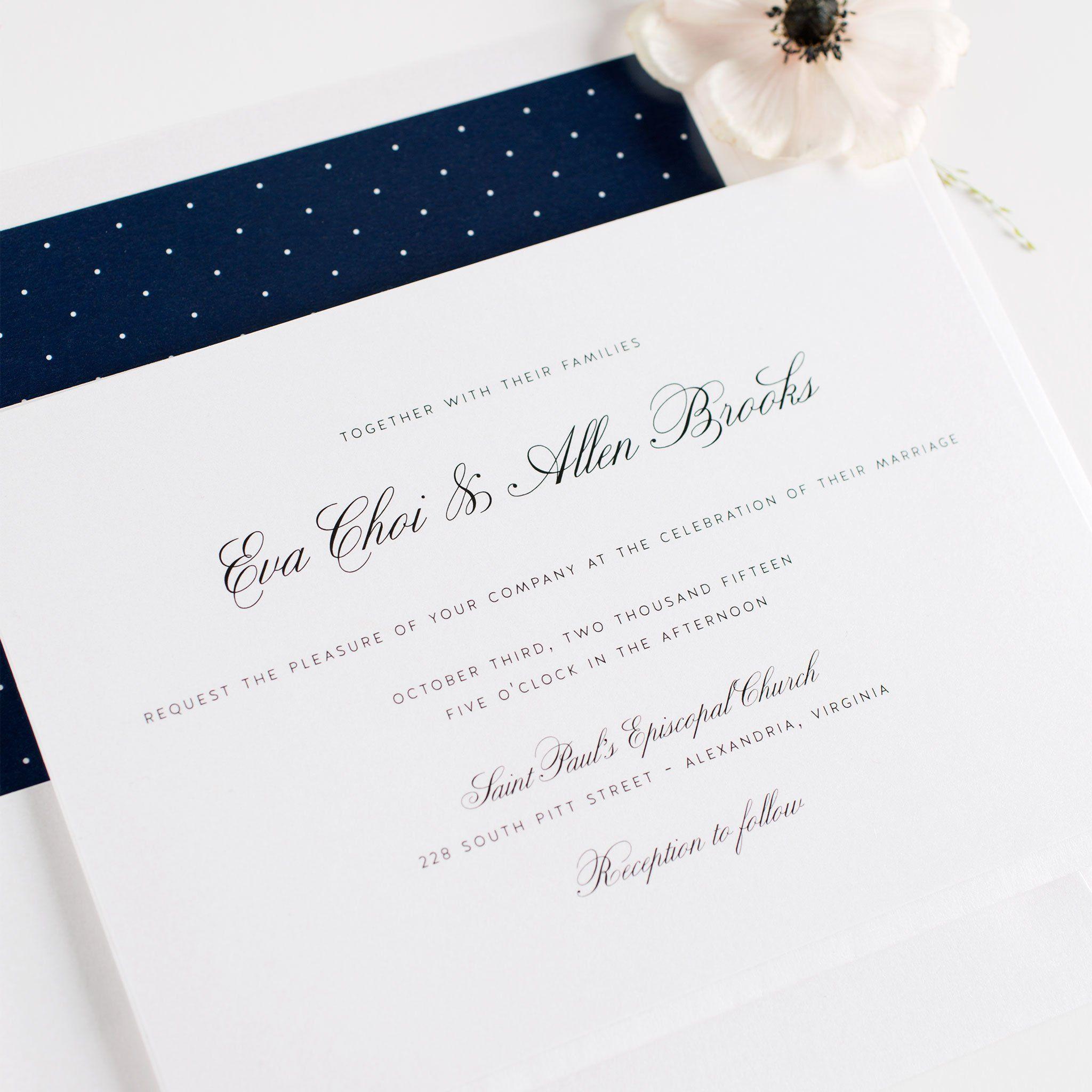 Free Wedding Invitation Samples   Shine Wedding Invitations ...