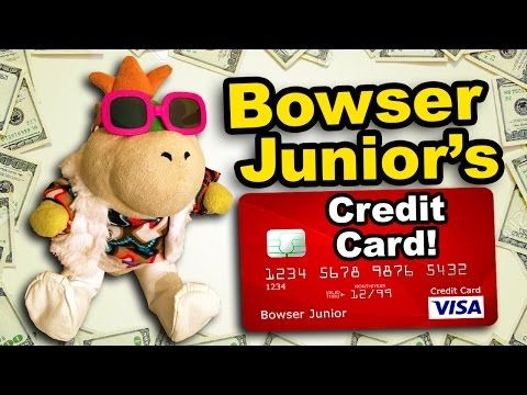 Sml Movie Bowser Junior S Credit Card Youtube Bowser