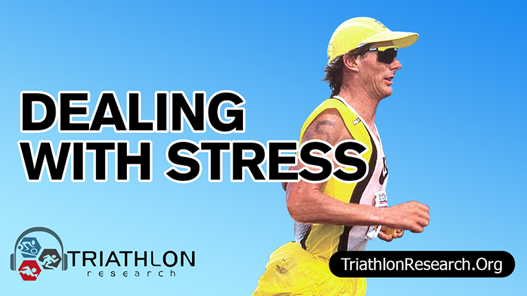 Stress is a huge part of the race for a triathlete. It's not about avoiding it, it's about managing it and dealing with it properly. Find out what six-time Ironman champ Mark Allen has to say about that in this segment of our Triathlon Research Radio podcast. #TriathlonResearch