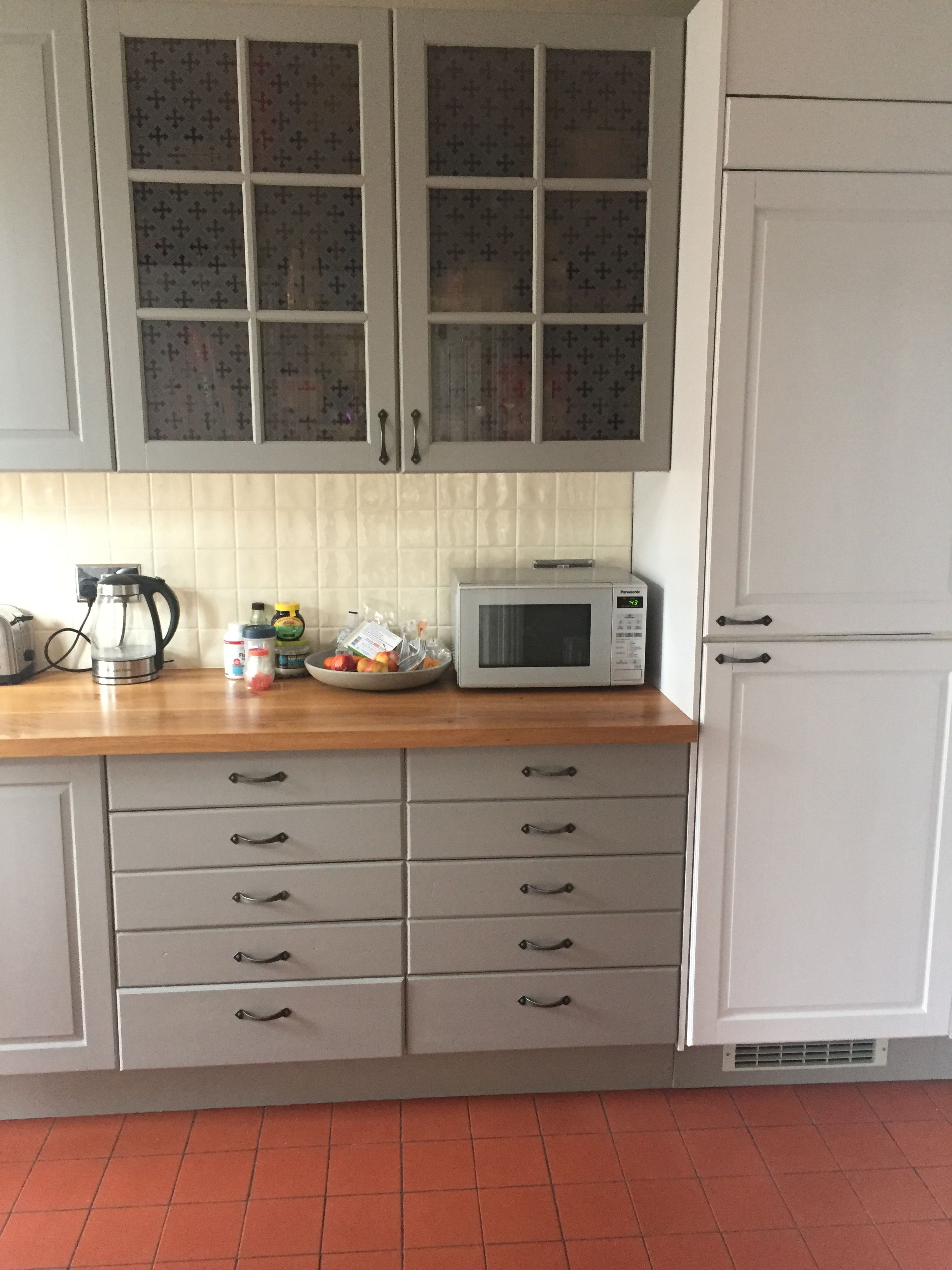 Best Farrow And Ball Worsted And Dimpse Ikea Cupboards 400 x 300