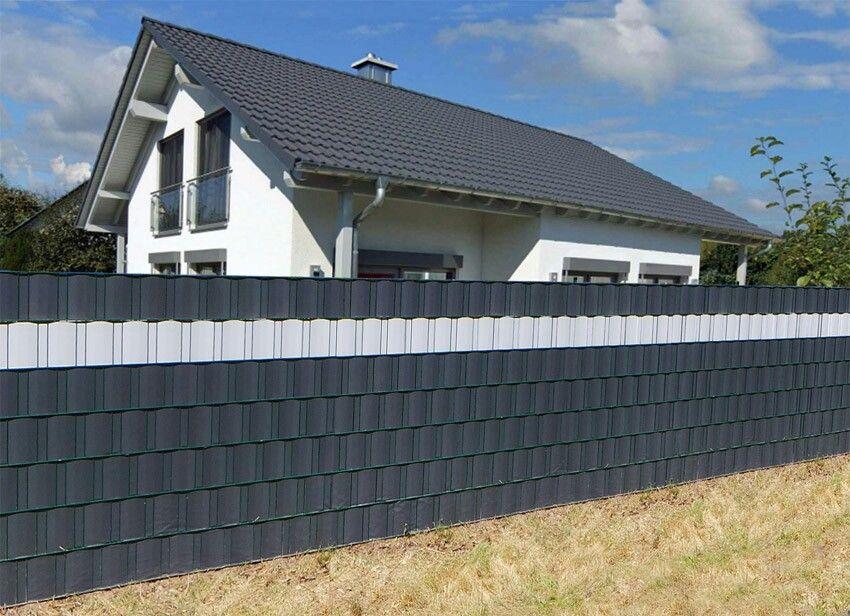 DHW tuin ideeën. Geen inkijk meer dankzij ZichtDicht lamellen; keuze uit ruim 50 kleuren/designs.