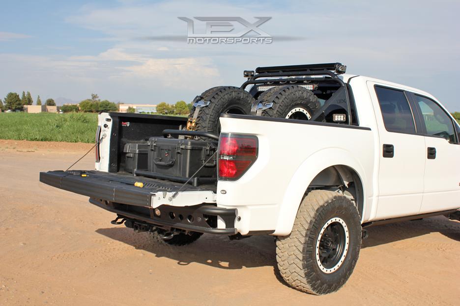 Bumpers Racks Ford Raptor Utility Bed Storage System Utility Bed Storage System Ford Raptor