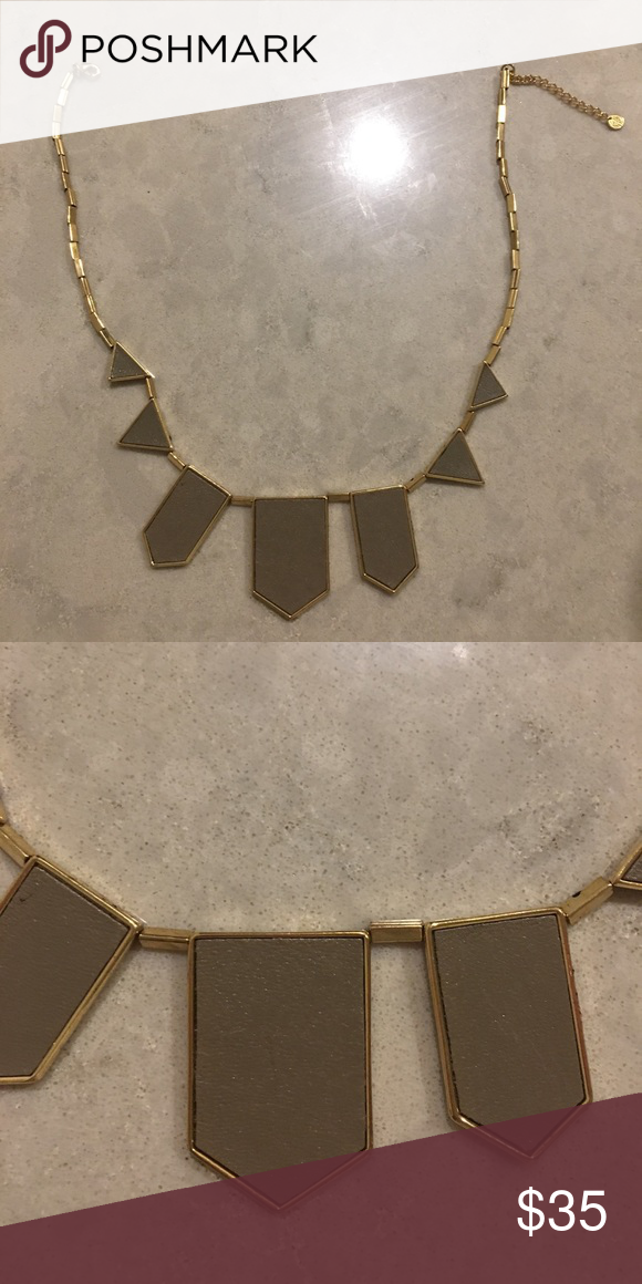 House of Harlow 1960 necklace Great condition!! Minor flaws. The necklace is a taupe brown. House of Harlow 1960 Jewelry Necklaces