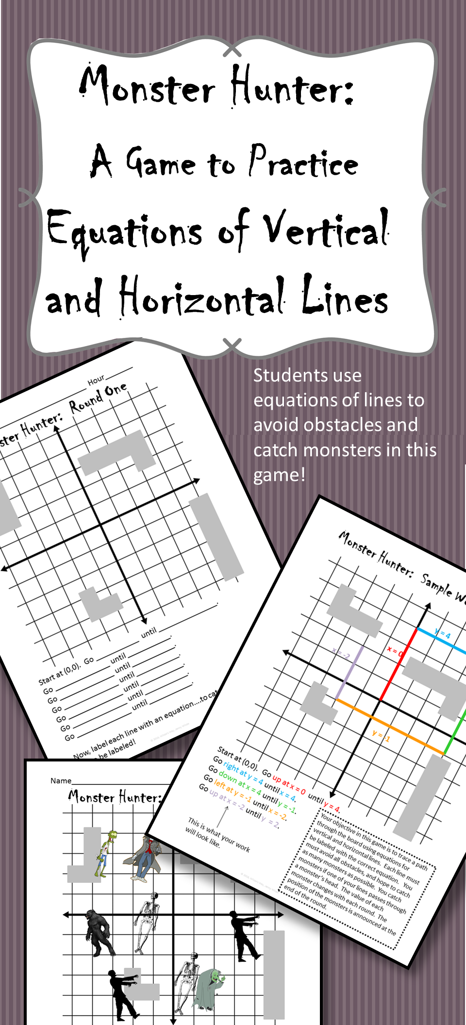 Equations Of Horizontal And Vertical Lines In Slope Intercept Form