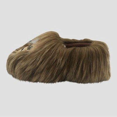 10d991928c Toddler   Star Wars Chewbacca Slippers - Brown M(7-8)