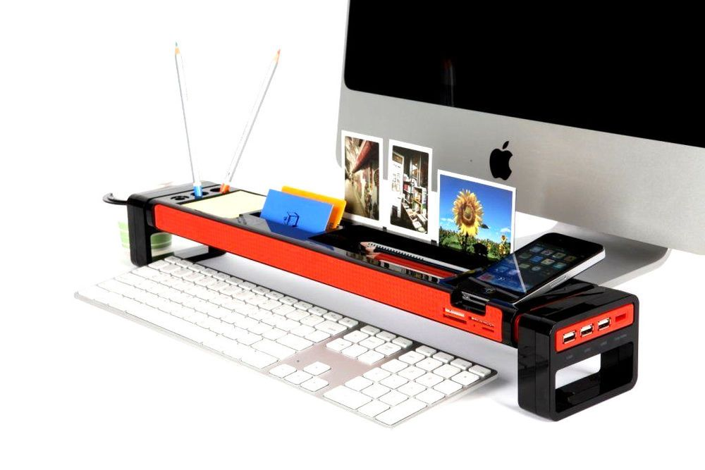 Enjoyable New 3 Usb Hub Desk Organizer Cup Holder Office Desktop Download Free Architecture Designs Rallybritishbridgeorg