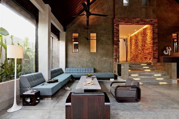 Luxurious Architectural Interiors and Outdoor Living Spaces in Balinese Style