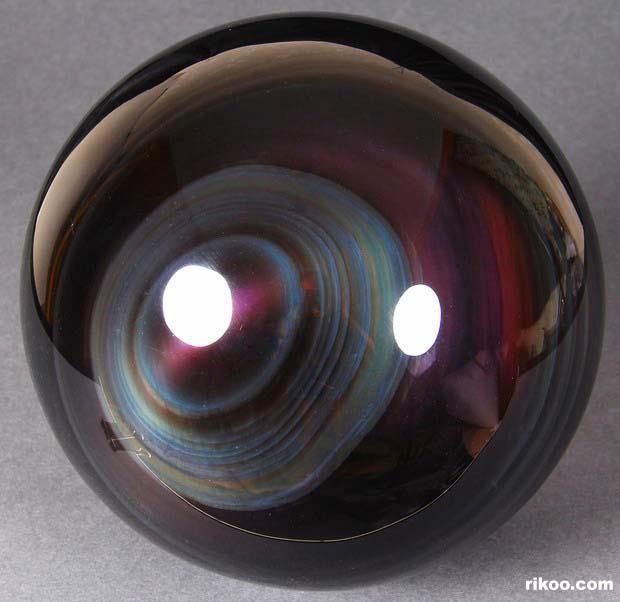 Rainbow Obsidian Crystal Ball