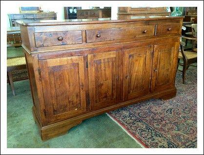 Credenza Rustica In Legno : Bellissima credenza rustica tipicamente toscana in legno di pioppo