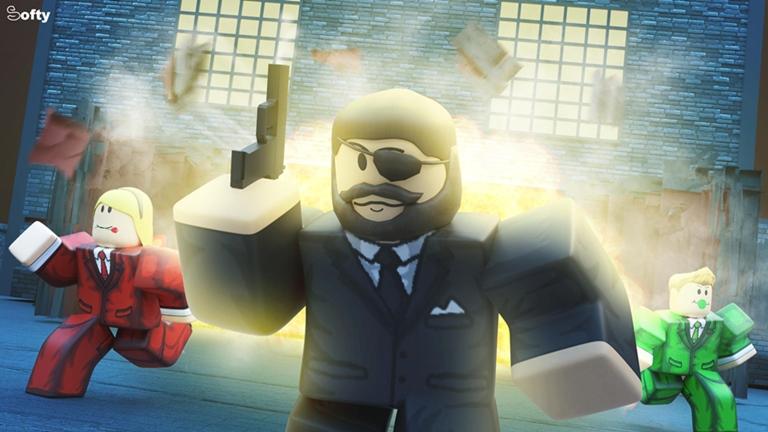 Agentes 👀 Roblox Roblox, Roblox pictures, City wallpaper