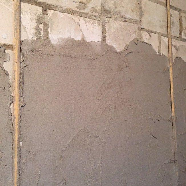 Fliesen Abschlagen Und Verputzen: Projekt: Wände Verputzen