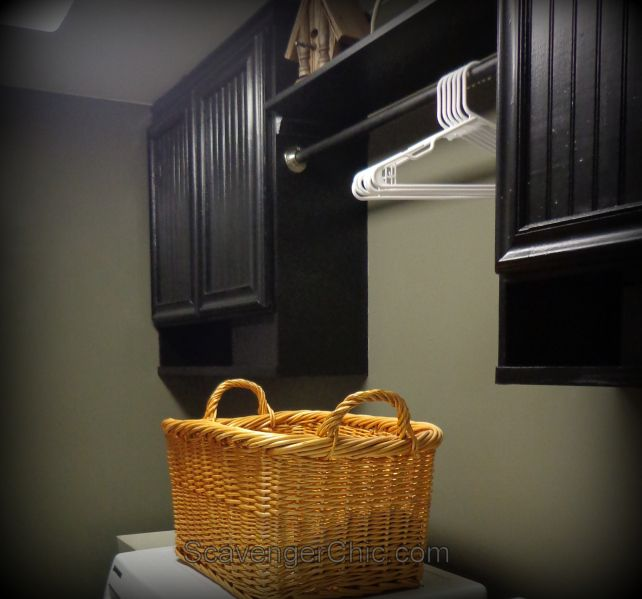 Laminate Kitchen Cabinets Refacing: Refacing Laminate And Oak Cabinet Doors DIY, Laundry Room