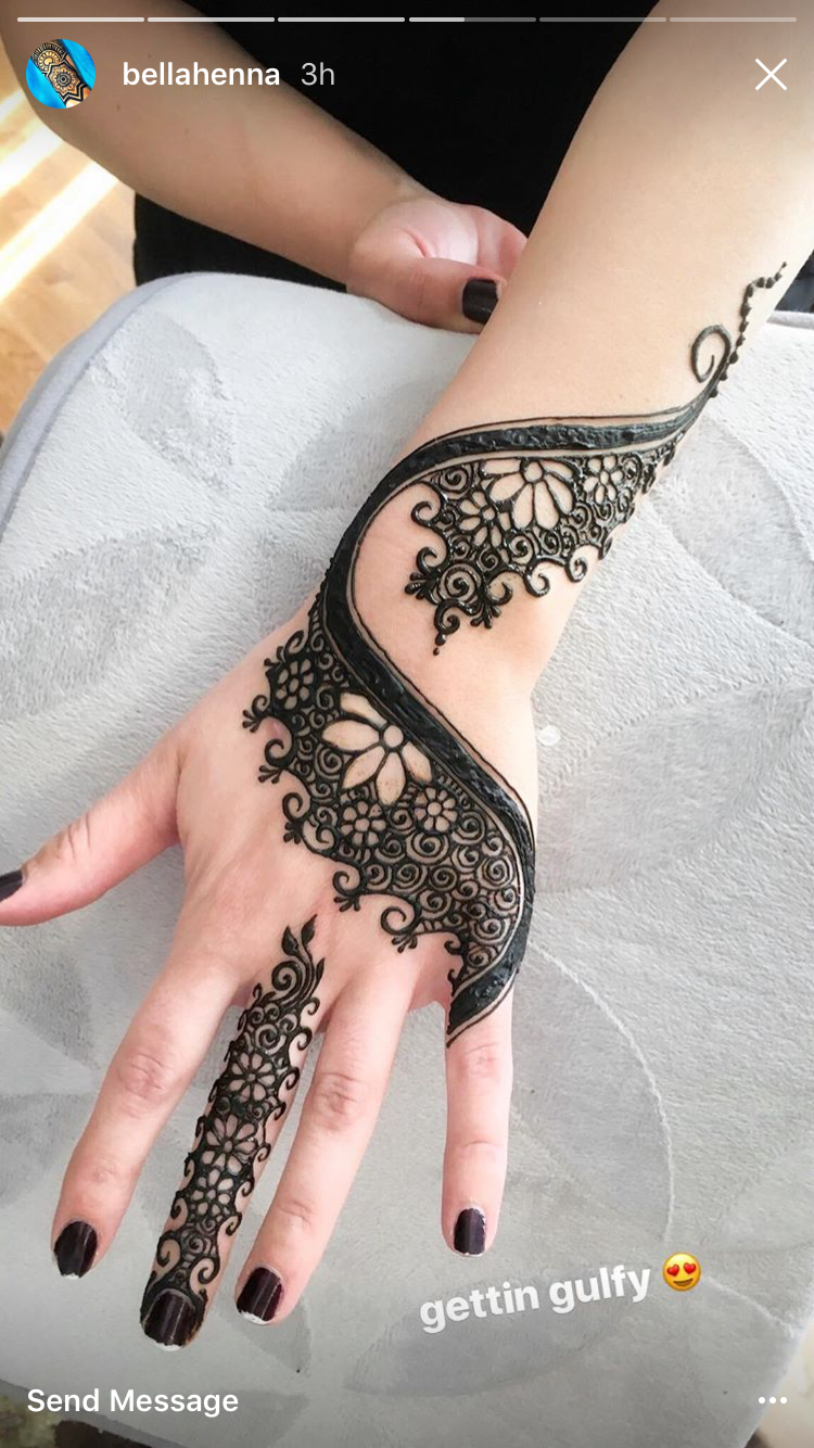 Love Henna Tattoos: Henna Muster Very Different. I Love It