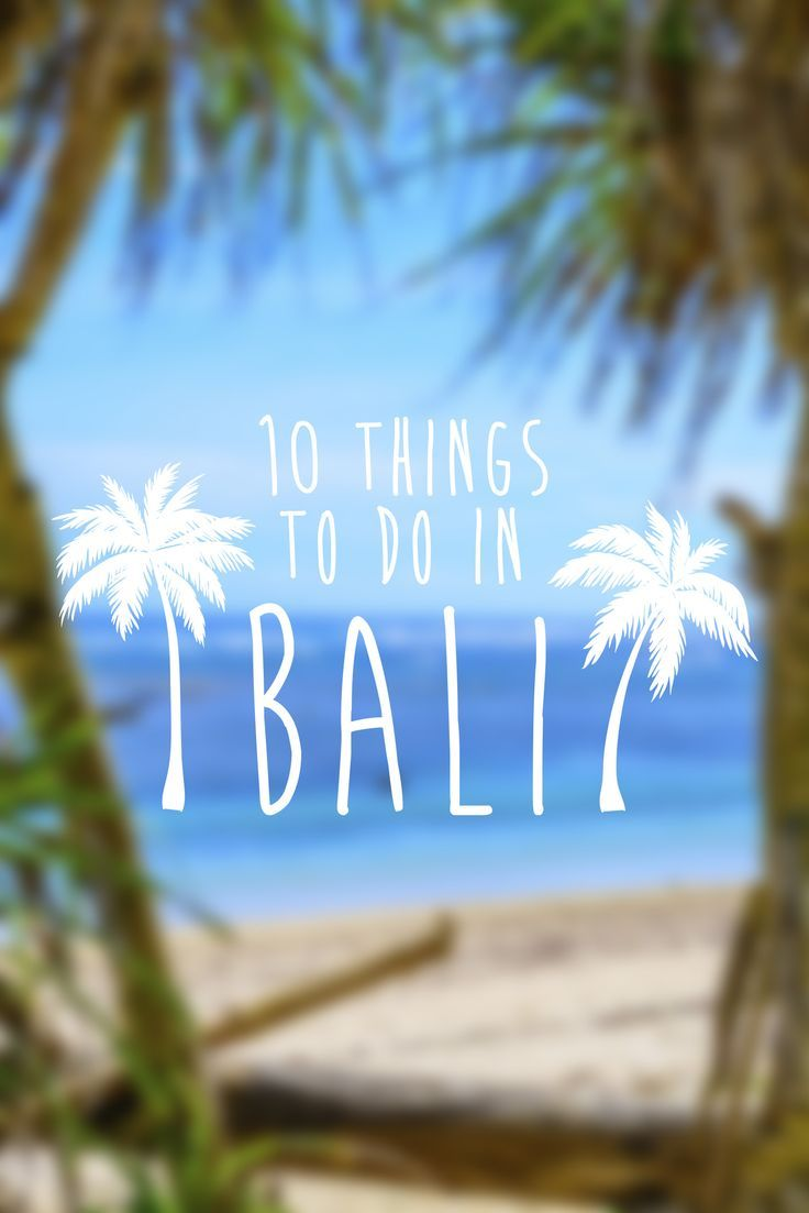 Go bananas for Bali. We have got down the best things to do so you can make the most of your trip to paradise!