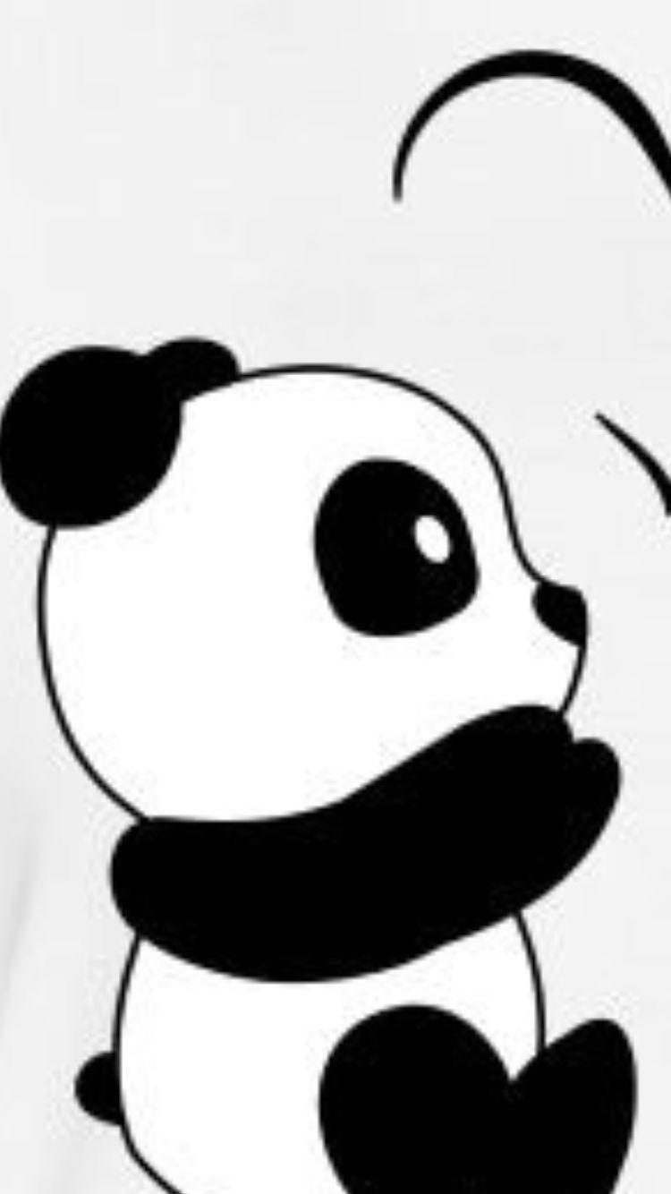 Pin By Angel On Covering Cute Panda Wallpaper Panda Painting Panda Background