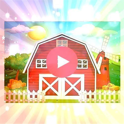 7x5ft Cartoon Red Farm Animals Party Backdrop Children Birthday Background for P ЯндексФотки Barnyard Backdrop Banner prendedor animales de la granja  Búsqueda&nbs...