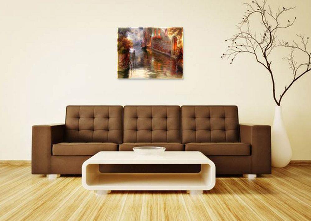 Картина по номерам «Венеция» | Софа, Идеи интерьера ...