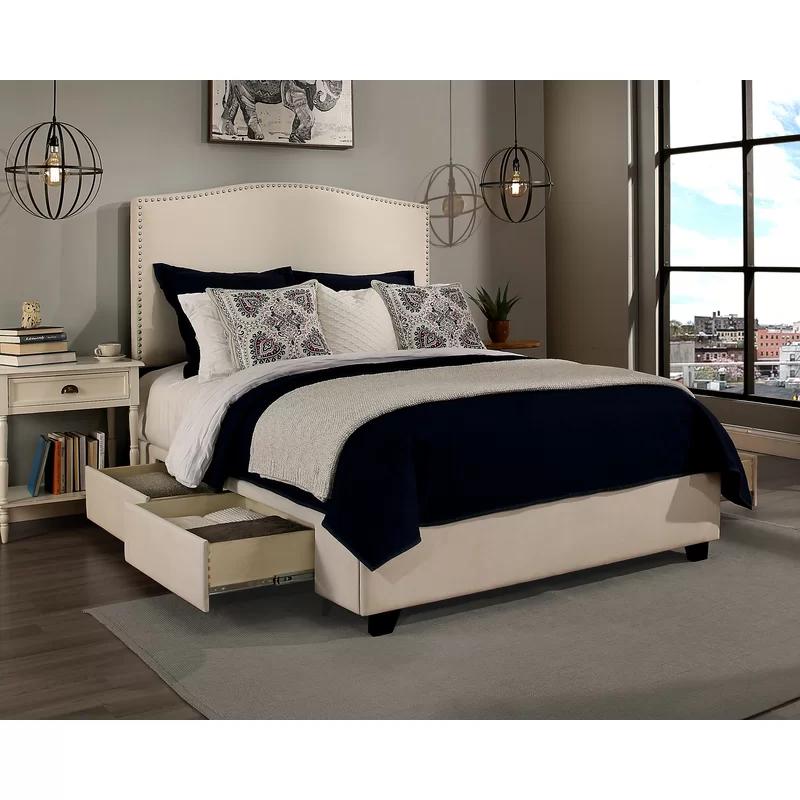 Darby Home Co Almodovar Upholstered Storage Platform Bed