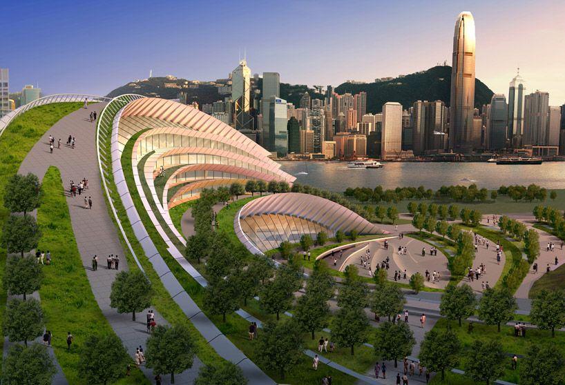 Aedas: express rail link west kowloon terminus