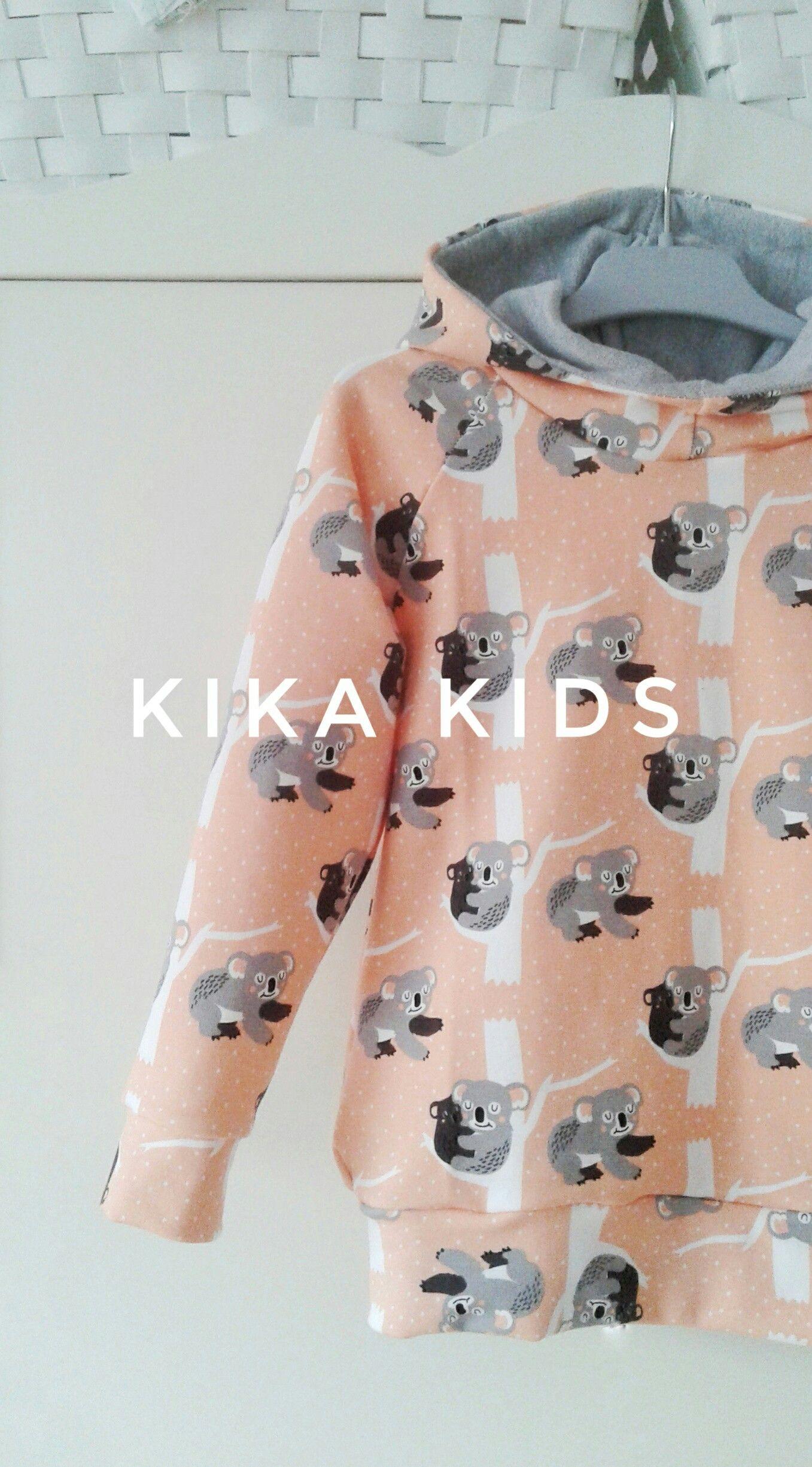 Sudadera Koala en color melocotón. Diseño unisex by kika kids ...
