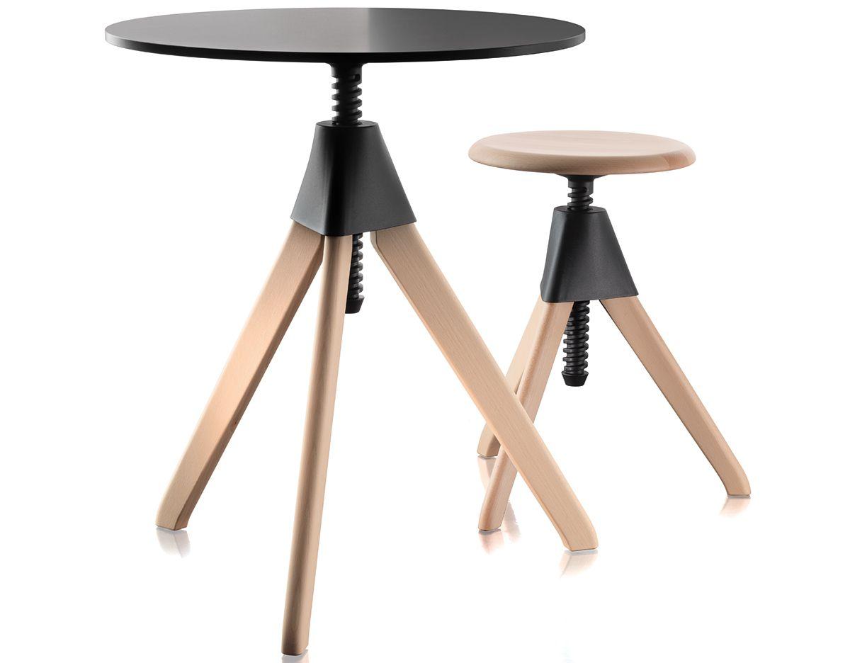 Magis Topsy Height Adjustable Table Adjustable Table Adjustable Height Table Italian Furniture Modern