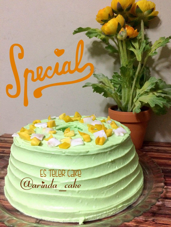 Es Teler Cake Kue Resep