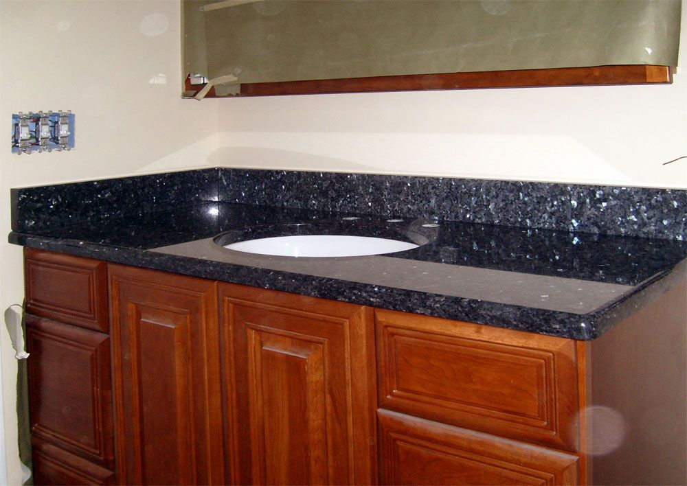 Blue Pearl Granite Bathroom Photos Blue Pearl Granite