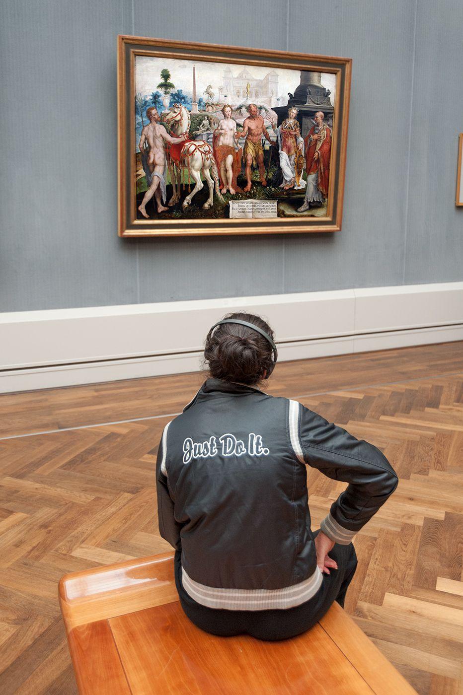 Momo por Maarten van Heemskerck, 1561, Gemäldegalerie, Berlin