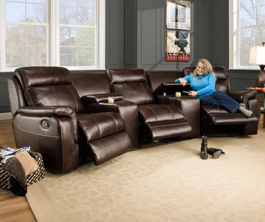 Pin By Renee Schwermer On Livingroom Seating Sectional Sofa With Recliner Living Room Furniture Arrangement Furniture