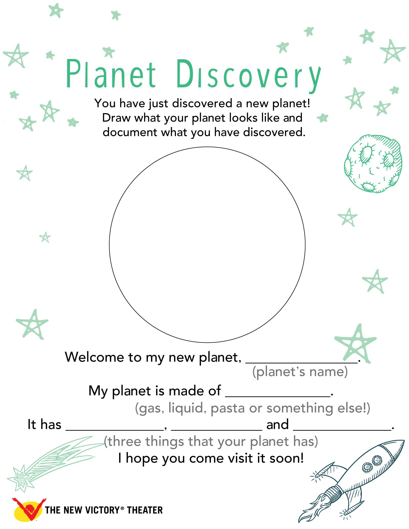 Discover A New Planet With This Way Back Home Family