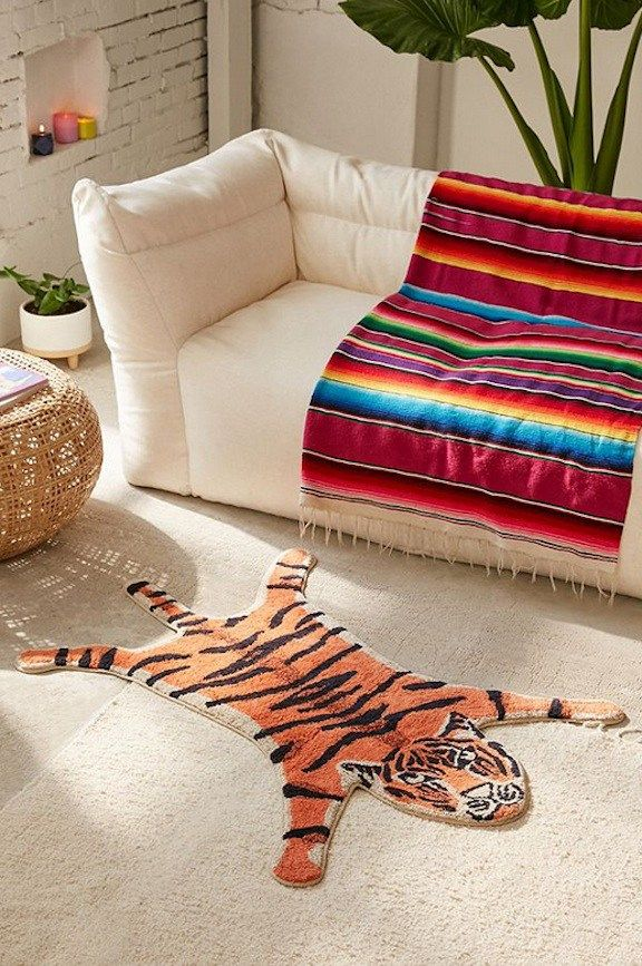 20 Amazing Bohemian Chic Interiors: 20 Amazing Tiger Prints That You Need Right Now