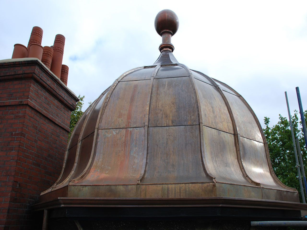 Copper Roof Copper Roof Metal Roof Roofing