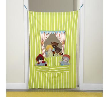 Kids Theater: Travel Hanging Puppet Theater