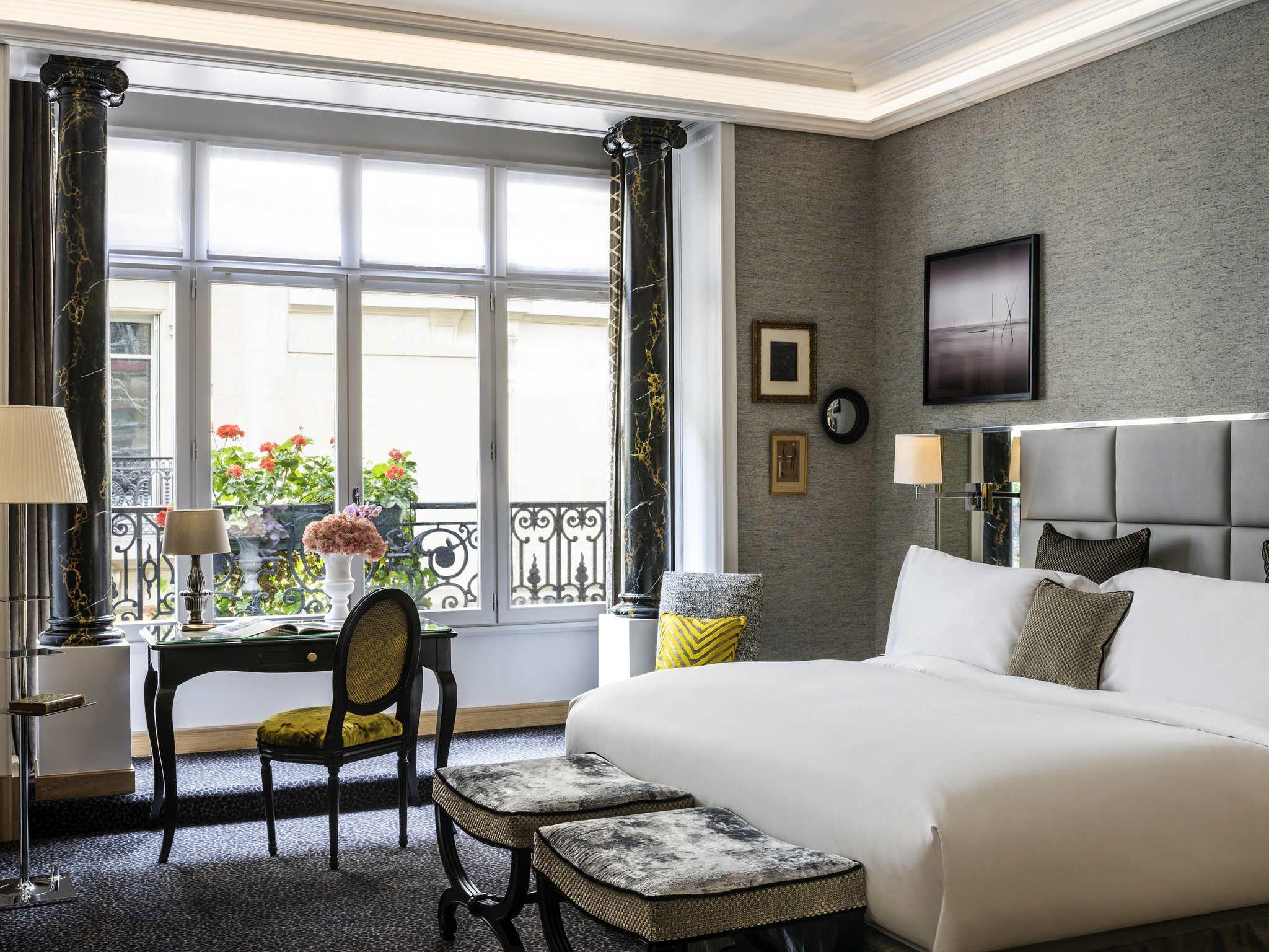The Sofitel Paris Baltimore Tour Eiffel is nestled among ...