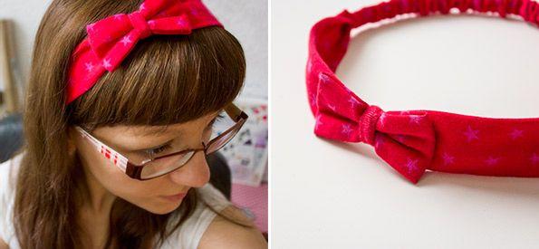 Haarband mit Schleife für Baby bis Erwachsene http://www.kreativlaborberlin.de/naehanleitungen-schnittmuster/haarband-mit-schleife-in-5-groessen-baby-erwachsene/